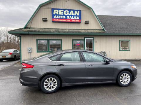 2017 Ford Fusion for sale at Mark Regan Auto Sales in Oswego NY