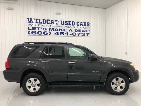 2008 Toyota 4Runner for sale at Wildcat Used Cars in Somerset KY