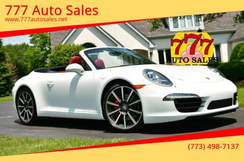 2015 Porsche 911 for sale at 777 Auto Sales in Bedford Park IL