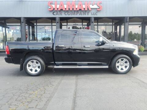 2012 RAM Ram Pickup 1500 for sale at Siamak's Car Company llc in Salem OR