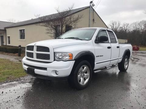 2002 Dodge Ram Pickup 1500 for sale at Wallet Wise Wheels in Montgomery NY