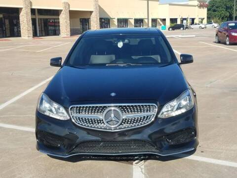 2015 Mercedes-Benz E-Class for sale at Nation Auto Cars in Houston TX