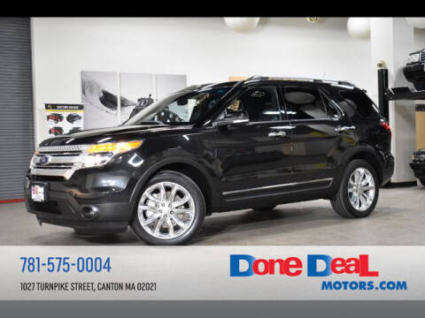2014 Ford Explorer for sale at DONE DEAL MOTORS in Canton MA