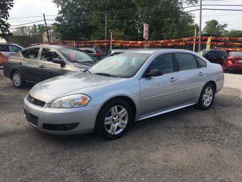 2011 Chevrolet Impala for sale at Antique Motors in Plymouth IN