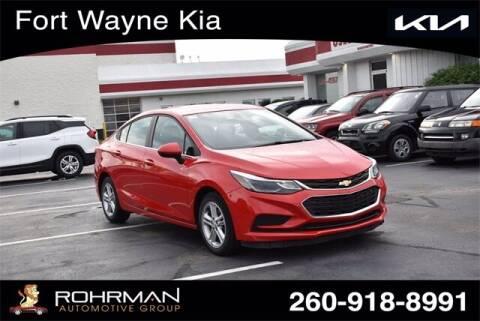 2016 Chevrolet Cruze for sale at BOB ROHRMAN FORT WAYNE TOYOTA in Fort Wayne IN
