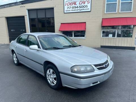 2003 Chevrolet Impala for sale at I-Deal Cars LLC in York PA
