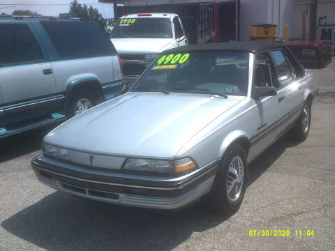 1990 Pontiac Sunbird for sale at M & M Inc. of York in York PA