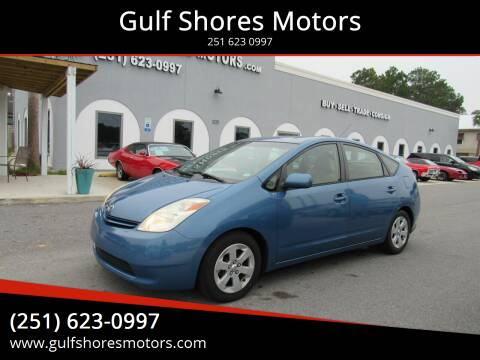 2005 Toyota Prius for sale at Gulf Shores Motors in Gulf Shores AL