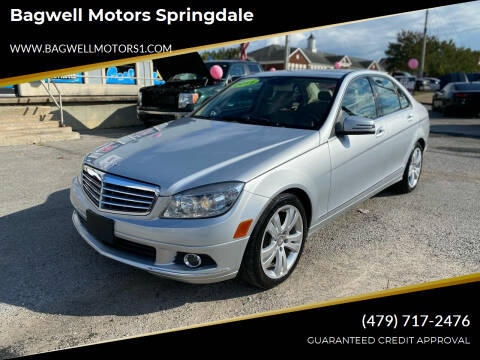 2011 Mercedes-Benz C-Class for sale at Bagwell Motors Springdale in Springdale AR