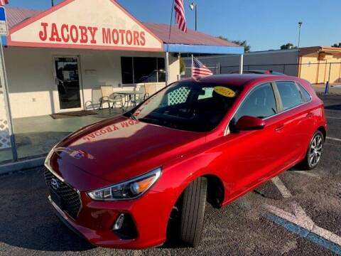 2018 Hyundai Elantra GT for sale at Jacoby Motors in Fort Myers FL