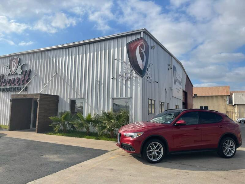2018 Alfa Romeo Stelvio for sale at Barrett Auto Gallery in San Juan TX