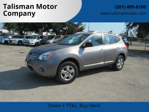 2015 Nissan Rogue Select for sale at Talisman Motor Company in Houston TX