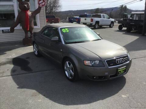 2005 Audi A4 for sale at SHAKER VALLEY AUTO SALES - Late Models in Enfield NH