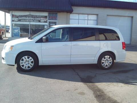 2017 Dodge Grand Caravan for sale at Settle Auto Sales TAYLOR ST. in Fort Wayne IN