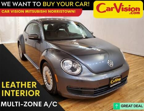 2015 Volkswagen Beetle for sale at Car Vision Mitsubishi Norristown in Trooper PA