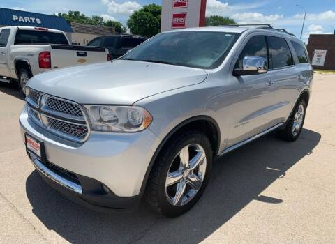 2012 Dodge Durango for sale at Spady Used Cars in Holdrege NE