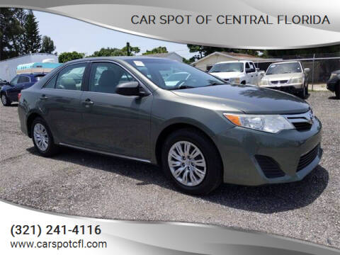 2012 Toyota Camry for sale at Car Spot Of Central Florida in Melbourne FL