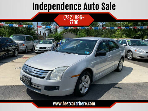 2006 Ford Fusion for sale at Independence Auto Sale in Bordentown NJ
