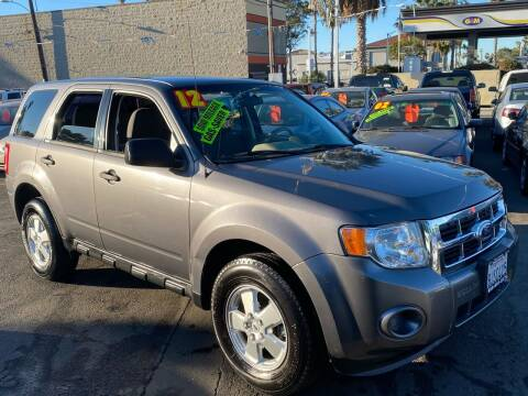 2012 Ford Escape for sale at North County Auto in Oceanside CA