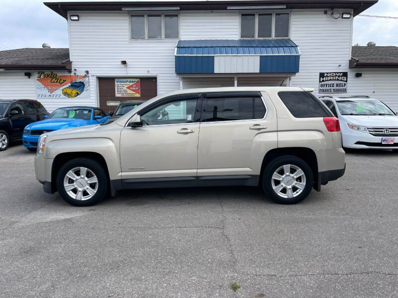 2012 GMC Terrain for sale at Twin City Motors in Grand Forks ND