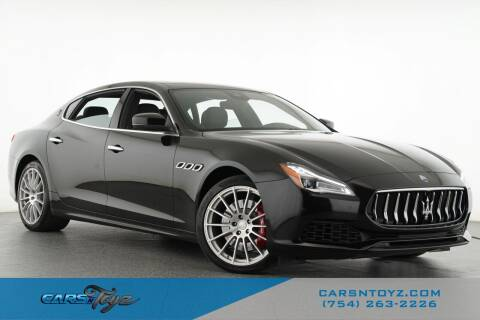 2018 Maserati Quattroporte for sale at JumboAutoGroup.com - Carsntoyz.com in Hollywood FL
