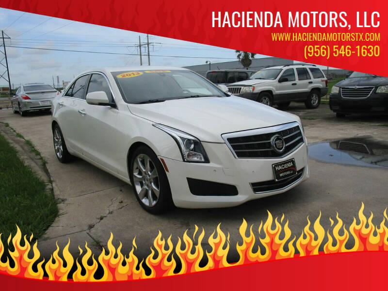 2013 Cadillac ATS for sale at HACIENDA MOTORS, LLC in Brownsville TX