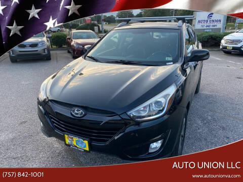 2014 Hyundai Tucson for sale at Auto Union LLC in Virginia Beach VA