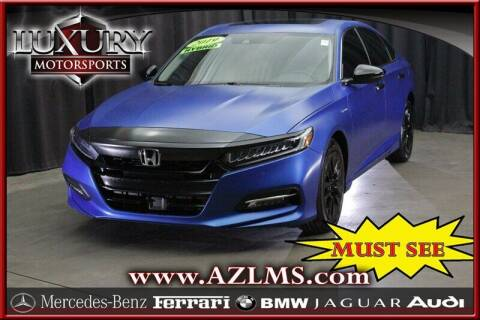 2019 Honda Accord Hybrid for sale at Luxury Motorsports in Phoenix AZ