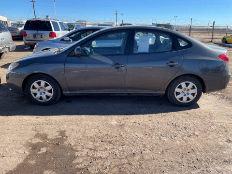 2007 Hyundai Elantra for sale at PYRAMID MOTORS - Fountain Lot in Fountain CO