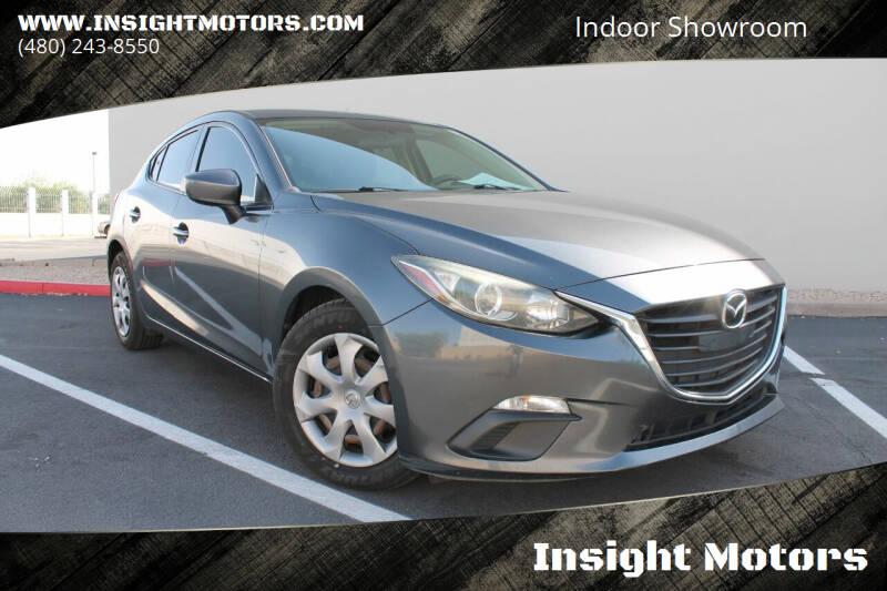 2014 Mazda MAZDA3 for sale at Insight Motors in Tempe AZ