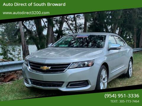 2018 Chevrolet Impala for sale at Auto Direct of South Broward in Miramar FL