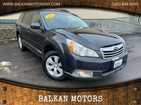 2012 Subaru Outback for sale at BALKAN MOTORS in East Rochester NY