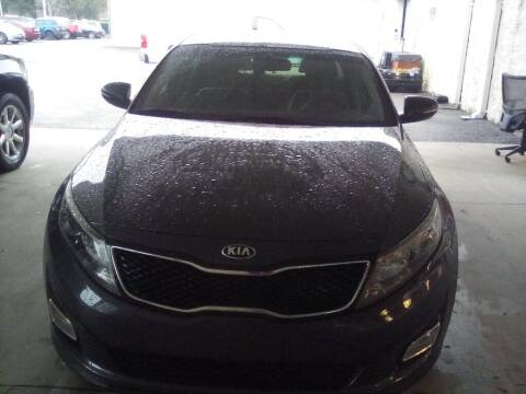 2015 Kia Optima for sale at JOE BULLARD USED CARS in Mobile AL