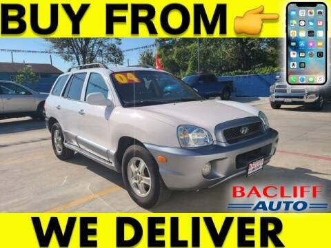 2004 Hyundai Santa Fe for sale at Bacliff Auto in Bacliff TX
