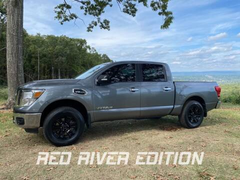 2017 Nissan Titan for sale at RED RIVER DODGE - Red River of Malvern in Malvern AR