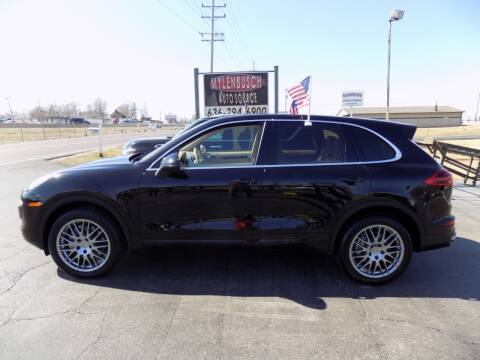 2015 Porsche Cayenne for sale at MYLENBUSCH AUTO SOURCE in O` Fallon MO