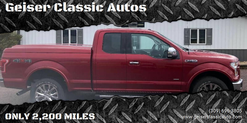 2017 Ford F-150 for sale at Geiser Classic Autos in Roanoke IL