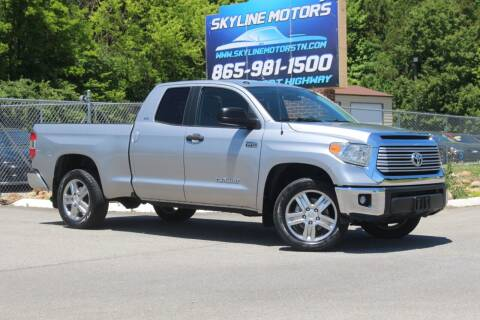 2014 Toyota Tundra for sale at Skyline Motors in Louisville TN