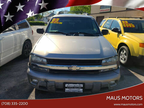 2003 Chevrolet TrailBlazer for sale at MAUS MOTORS in Hazel Crest IL