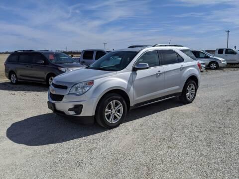 2012 Chevrolet Equinox for sale at Halstead Motors LLC in Halstead KS