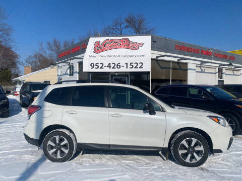 2018 Subaru Forester for sale at Mainstreet Motor Company in Hopkins MN