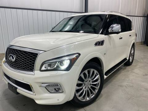 2015 Infiniti QX80 for sale at EUROPEAN AUTOHAUS in Holland MI