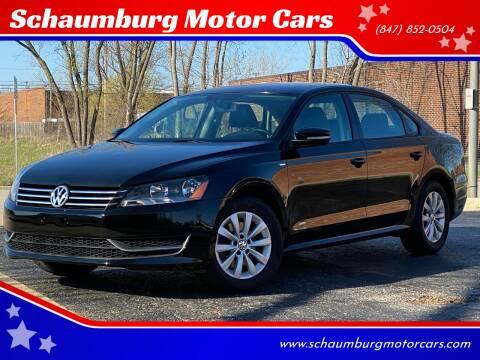 2014 Volkswagen Passat for sale at Schaumburg Motor Cars in Schaumburg IL
