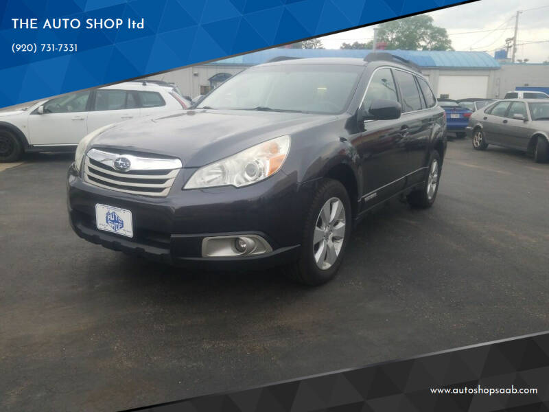 2011 Subaru Outback for sale at THE AUTO SHOP ltd in Appleton WI