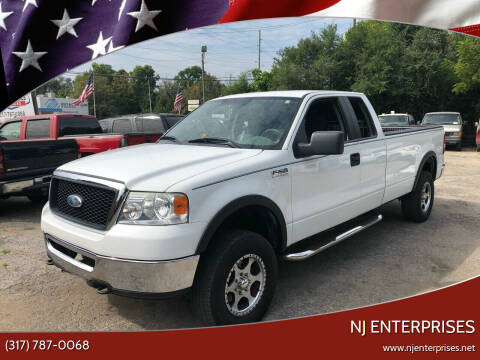 2008 Ford F-150 for sale at NJ Enterprises in Indianapolis IN