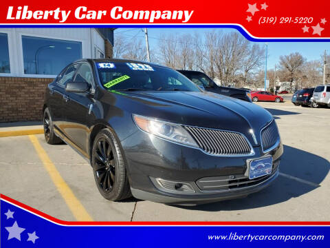 2014 Lincoln MKS for sale at Liberty Car Company in Waterloo IA