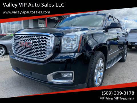 2015 GMC Yukon XL for sale at Valley VIP Auto Sales LLC in Spokane Valley WA