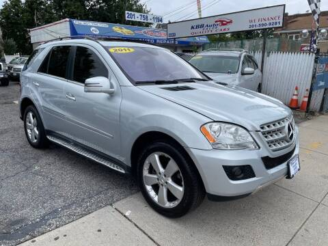 2011 Mercedes-Benz M-Class for sale at KBB Auto Sales in North Bergen NJ