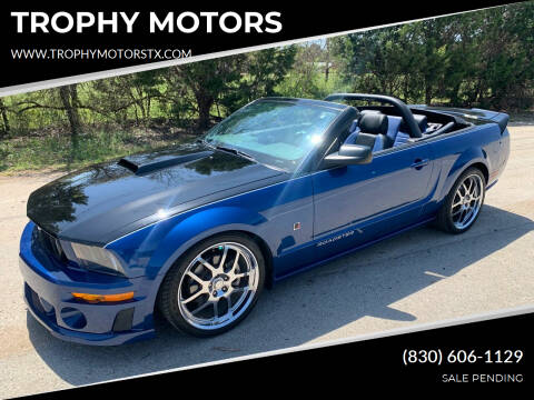 2007 Ford Mustang for sale at TROPHY MOTORS in New Braunfels TX