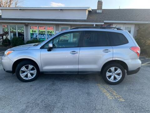 2015 Subaru Forester for sale at Revolution Motors LLC in Wentzville MO